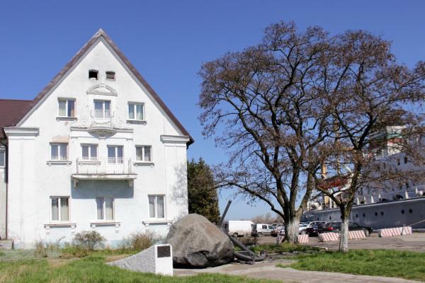 Балкон, где я курил в Балтийске