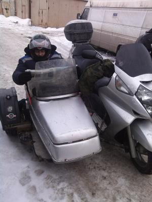 Зимний мото пробег 12-16 февраля 2014 г.  часть 3