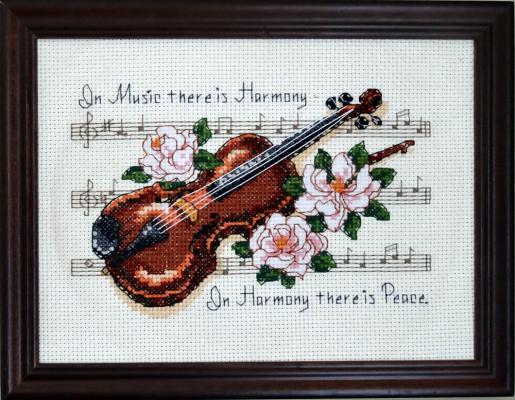 Скрипка...
