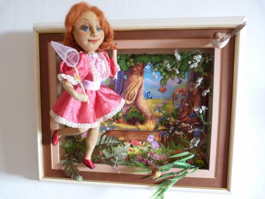 Картины для кукол своими руками