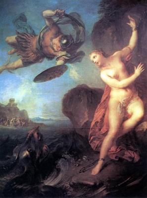 Ф. Лемуан Персей и Андромеда 1723