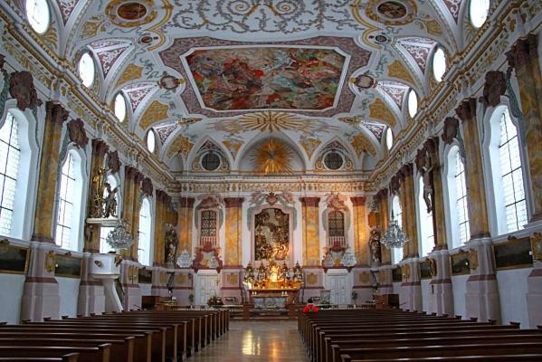 Потолки Соборов и дворцов Мюнхена (Бавария) и Зальцбурга (Австрия) Серия