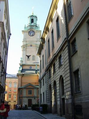 Где-то на улочках Стокгольма