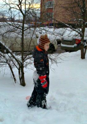 В Столичных снегах!