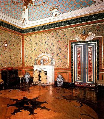 Интерьеры Китайского дворца в Ораниенбауме. (несколько снимков)