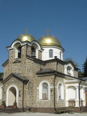 Хоста, Церковь Спаса Преображения