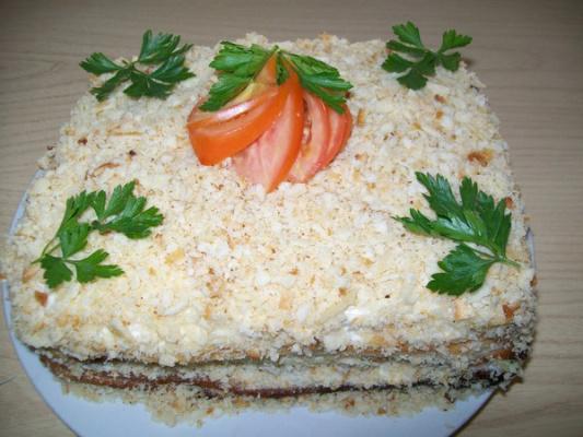 """Торт """"Закусочный""""."""