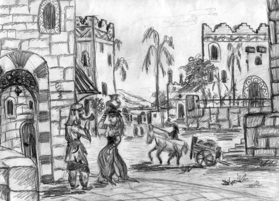 Улочка древней Гоморры