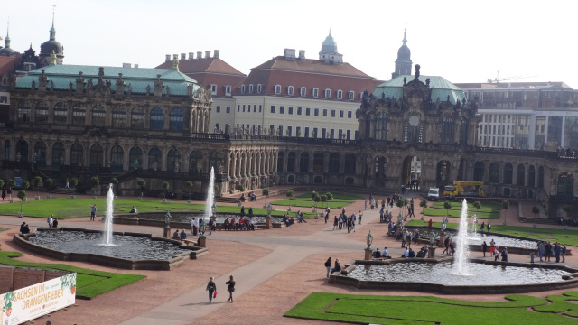 Цвингер, Дрезден