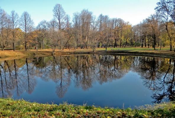 В парке Екатерингоф, сегодня.