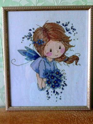 голубая фея
