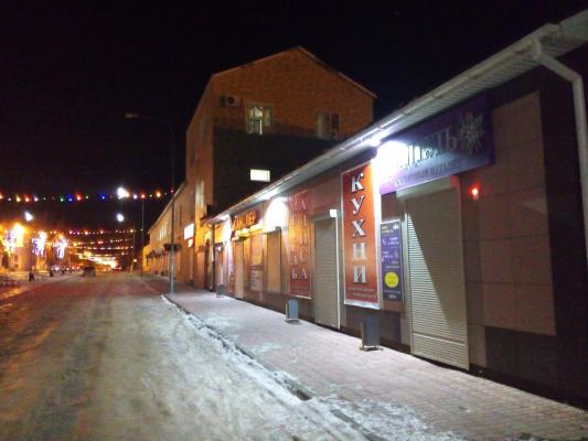 Улица Ленина..... морозно и безлюдно