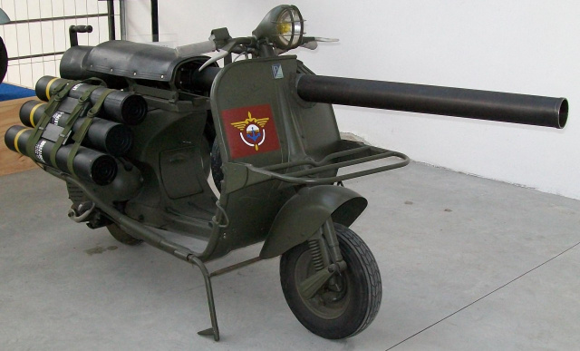 Боевой Мотороллер Пехоты )
