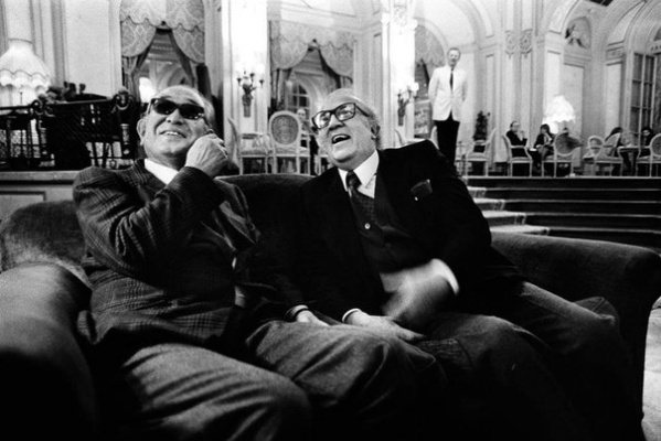 Акира Куросава и Федерико Феллини.