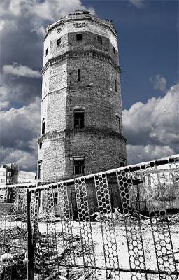 водонапорная башня в тольятти