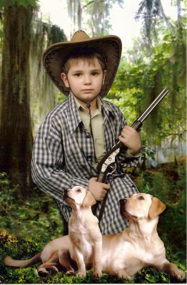 Охотник.