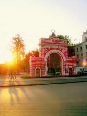 Казань. Красные ворота