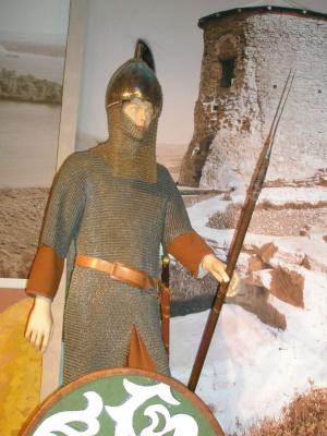 Воин Волжской Булгарии