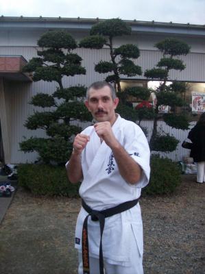 После Дан теста в Японии, г. Исесаки, Возле  Мацушима Додзё.