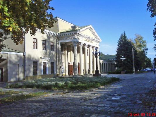 Днепропетровск. Потемкинский дворец.