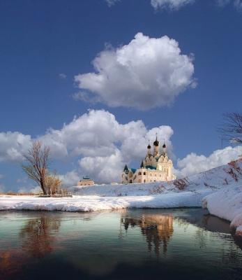 Красивая природа, Храм!