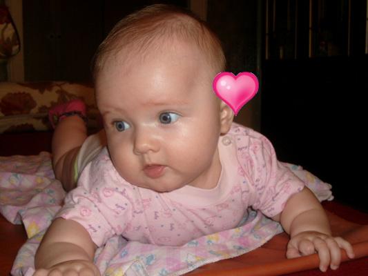 Моя лапочка-внучка