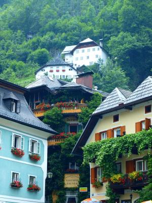 Городок Халльштатт, Австрия