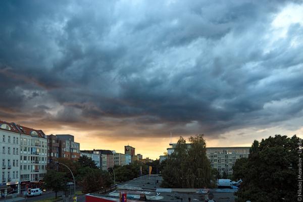 Закат в Веддинге (Берлин)