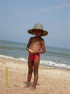 На  пляже!