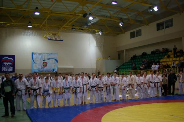 Первенство и Чемпионат России ИКО Мацушима г. Сыктывкар 2009.