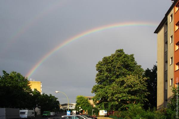 Двойная радуга над Берлином