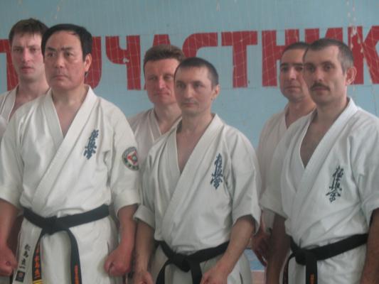 Сборы и дан тест г. Новосибирск.