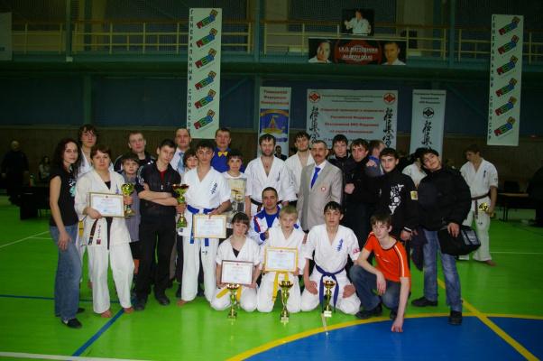 Первенство и Чемпионат России ИКО Мацушима 21.03.2010 г. Тюмень