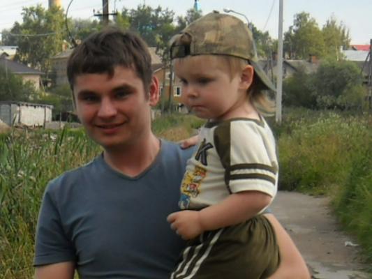 Внук и сын