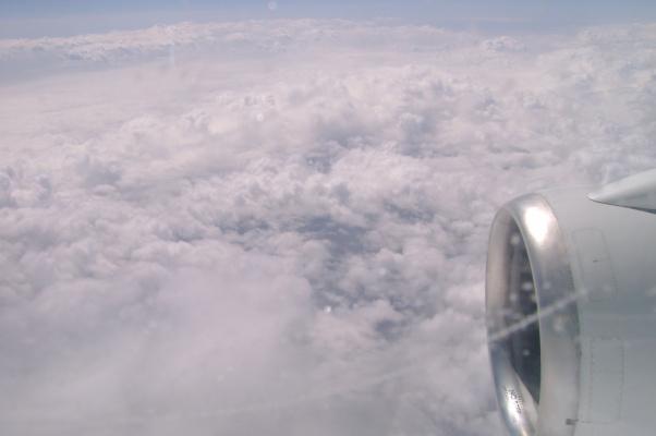 Облака над Святой Землёй