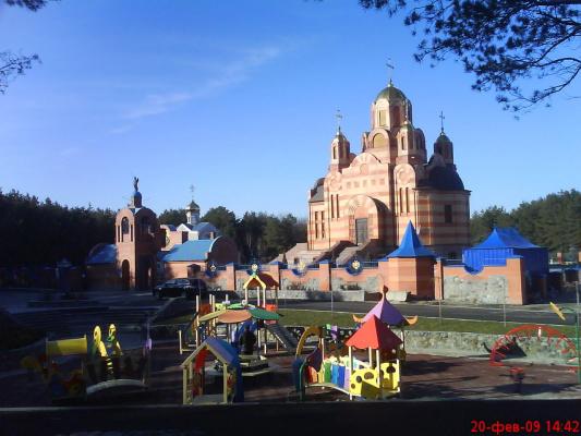 Днепропетровск. Новый храм.