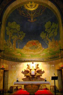 В гефсиманской базилике