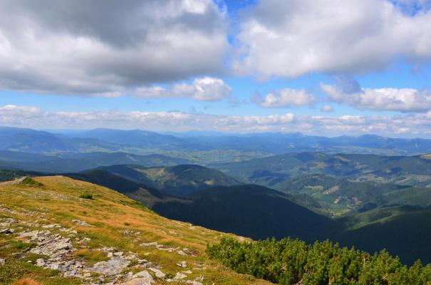 Палитра гор