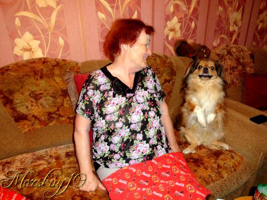 Фунтик и бабушка!