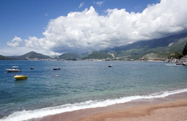 Пляж Свети Стефан. Черногория