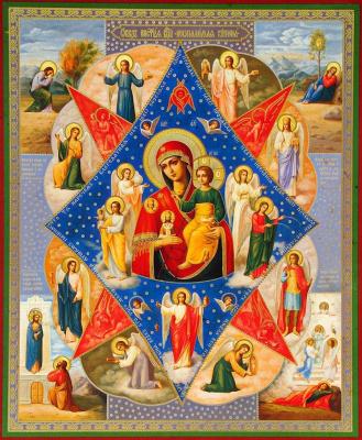 Икона «Неопалимая купина»