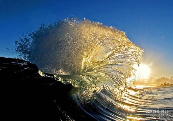 Морской фонтан.