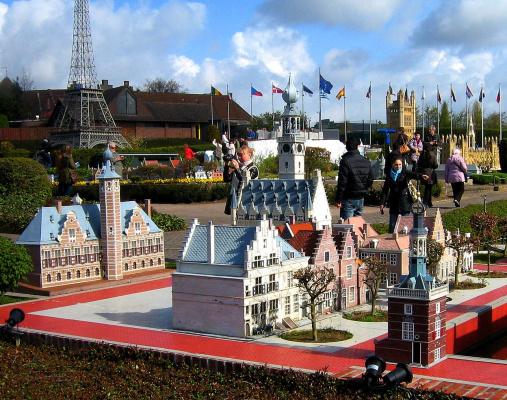 "Брюссель. Парк ""Mini-Europe""."