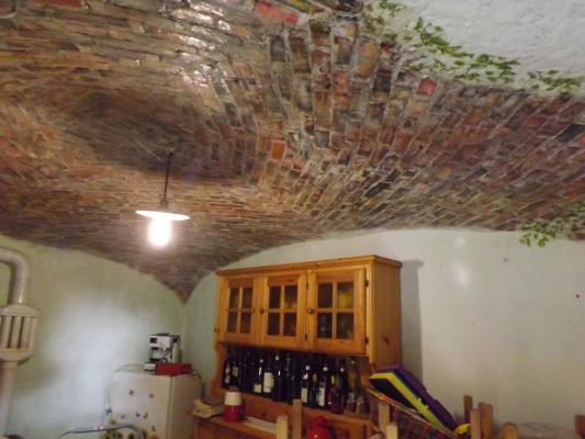 декупаж на потолке