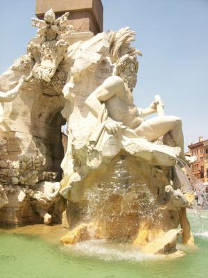 Фонтан 4-х рек, Рим