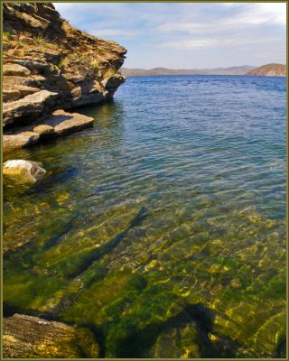 Крутые берега у Сахюрты