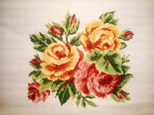 Старомодные розы