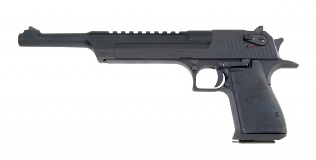"Desert Eagle Mark XIX Pistol with 10"" Barrel, .50 AE, Black"