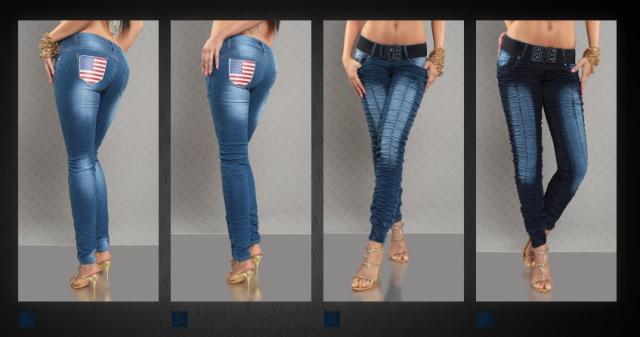 джинсы женские Германия = 1500 руб.