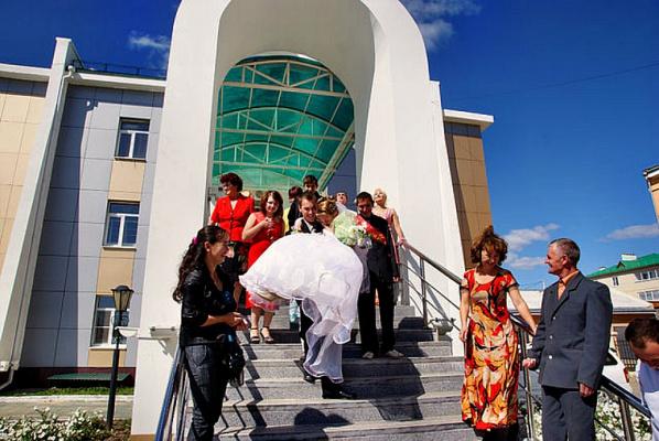 Дворец бракосочетания в Агинске.